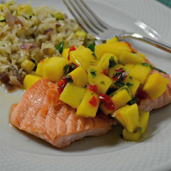 Salmon Mango Bango