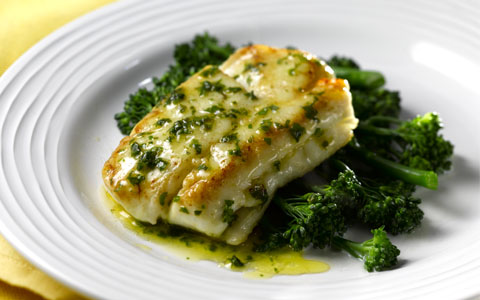 Easy Whitefish with Lemon and Herbs.