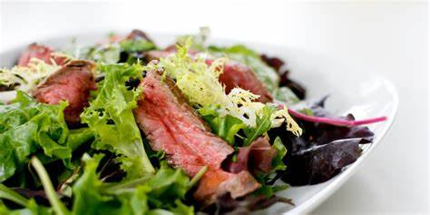 Grilled Steak and Onion Salad.