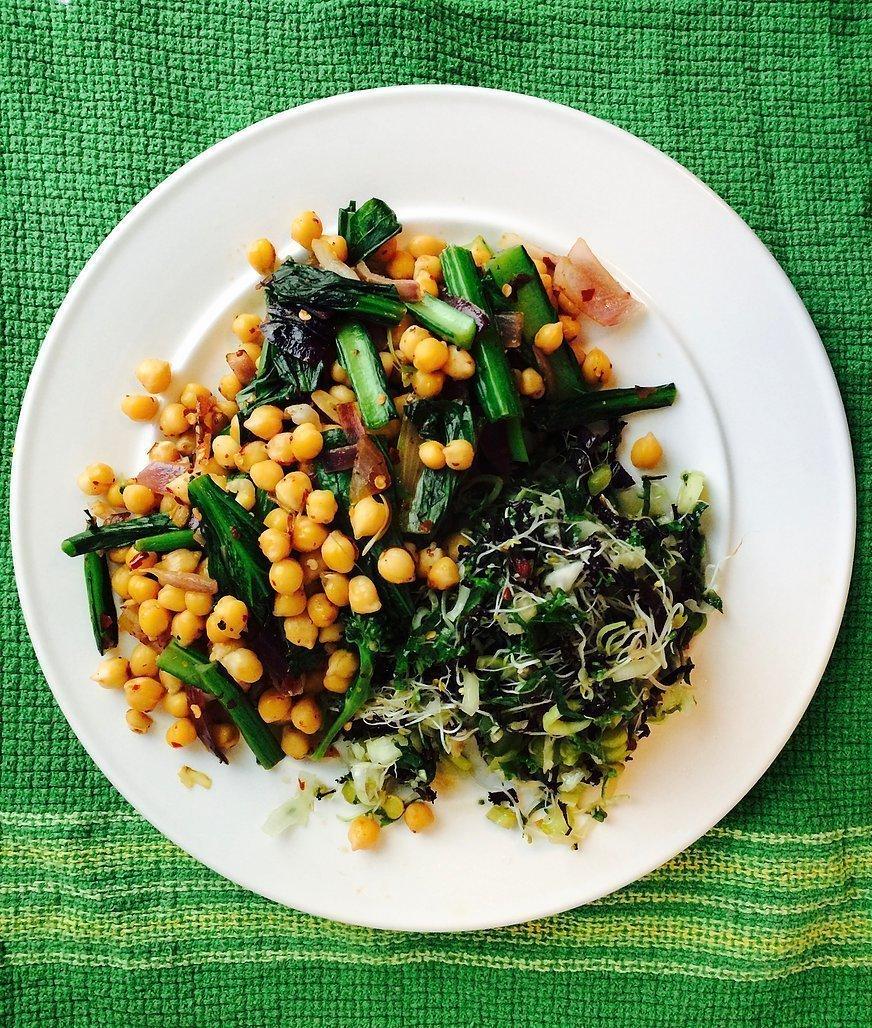 Get Up & Go Power Salad!