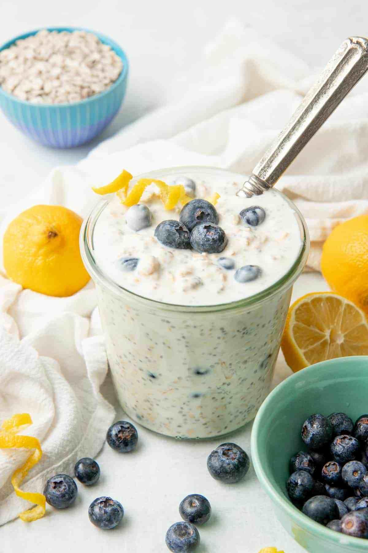 Versatile overnight oats!